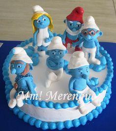 Pitufos - Smurfs - Tortas - Cakes