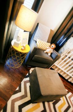 Houston Heights Nursery - contemporary - kids - houston - Marie Flanigan Interiors