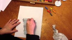 How to Draw an Olympic Torch