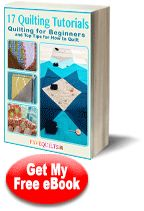 """17 Quilting Tutorials: Quilting for Beginners and Top Tips for How to Quilt"" eBook from @FaveQuilts"
