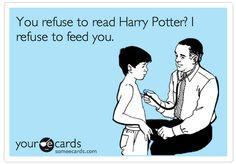 My future children better like Harry Potter. Or else.