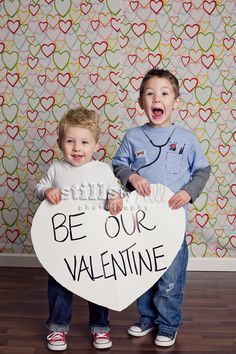 love the heart backdrop and the big valentine sign