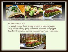 $25 Dollar Tree Challenge: Roasting Frozen Vegetables