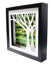 Tree Shadow Box. I really like this, I think it would be cool to try and make something similar.