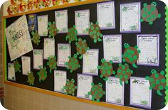 """Talking Turtles writing activing for verbs...chart all the things they """"do,"""" then kids write and highlight all the verbs in their writing, and then create their own turtle, adding the spots and writing the verbs on them for display. Nice."""
