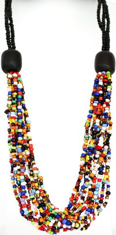 Bead Necklaces - with different colors