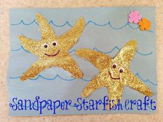 If these Cheerios could talk...: DIY Leis and a Sandpaper Starfish Craft