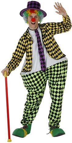 Disfraz de payaso para hombre : Vegaoo, compra de Disfraces adultos