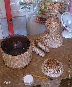 Плетение из газетных трубочек кукольная мебель