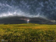 lightning tornado