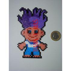 Troll de la suerte hama beads by hamaymas