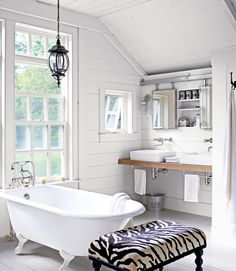 bathroom, but might change out the zeebra chair.