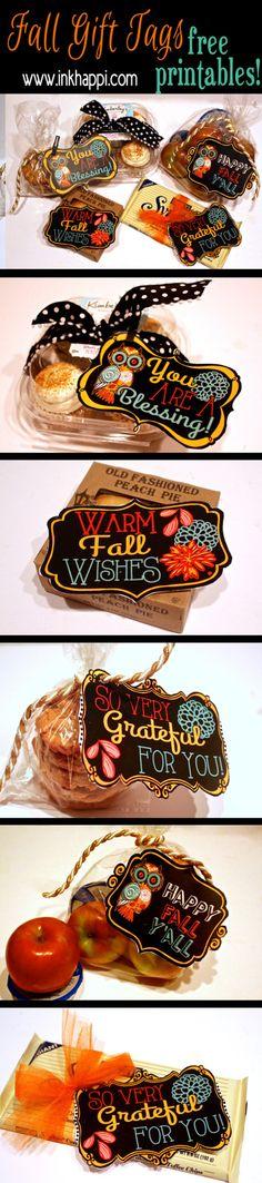 Fall printable gift