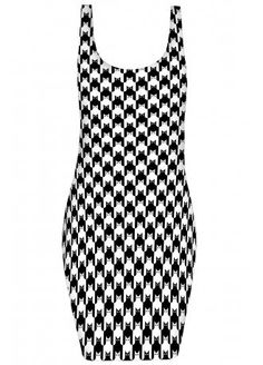 Cat Tooth Bodycon Dress, £28.99