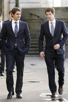 Roger Federer & Andy Murray