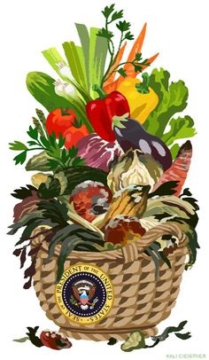 2 (semi) recent illustrations about food!  The top one is for...