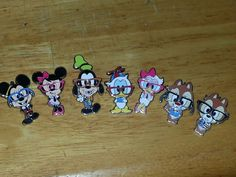 Nerd Disney trading pins