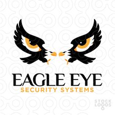 Exclusive Customizable Logo For Sale: Eagle Eye Security Systems | StockLogos.com