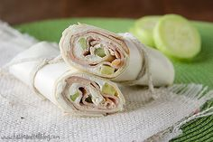 Cucumber Ranch Turkey Wraps--try and maybe add some roasted red peppers or sun-dried tomatoes or spinach.