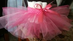 NEW multi pink  tutu ballet mini diaper cake so super precious comes in any color you need for your baby shower