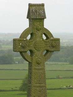 In Celtic regions of Ireland and later in Great Britain, many free-standing upright crosses (or high crosses) were erected by Irish monks, beginning at least as early as the seventh century. Some of these 'Celtic' crosses bear inscriptions in runes.