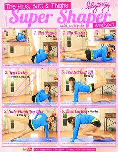 Hips Butt & Thighs Super Shaper Workout
