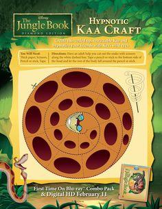 Hypnotic Kaa Craft! #BareNecessities