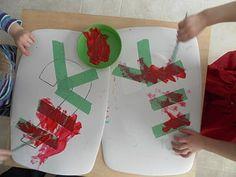 homeschool christma, christma activ, kid art, kid stuff