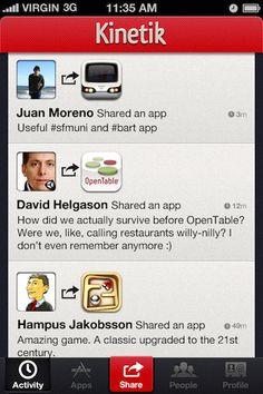 Kinetik - Share the apps you love    ----BTW, Please Visit:  http://artcaffeine.imobileappsys.com