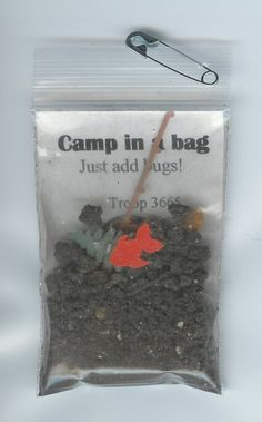 Camp in a Bag