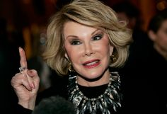 Joan Rivers: 8 ways the comedy legend laughed at herself