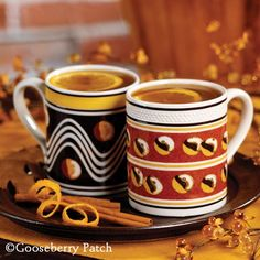 Hot Caramel Apple Cider from 101 Homestyle Favorites Cookbook by Gooseberry Patch