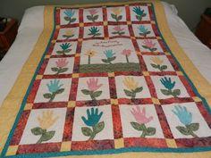 Another handprint quilt