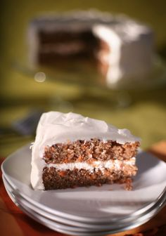 Carrot Cake with Cream Cheese Icing.