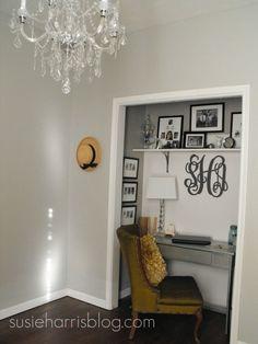 Closet Office   # Pin++ for Pinterest #