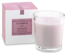 Williams-Sonoma Essential Oils Boxed Candle, Tuscan Fig