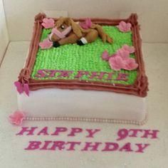 Birthday Horse cake