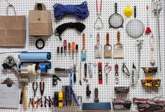 That one wall in your garage could learn a thing or two from Ben Medansky's artfully arranged tools.