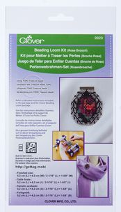 Rose Brooch Beading Loom Kit