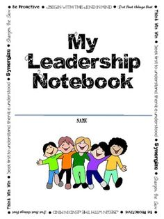 Leadership Notebook (Data Notebook) Pages to use with Lead