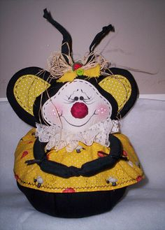 peso de porta abelha  by DALILLA, via Flickr