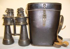 WW2, Nazi German 7 X 50 Magnification, Armoured Kriegsmarine Binoculars By Ernst Leitz, Wetzlar (beh), With 1944 Dated Case By Leitz. Sn 8681. | Militaria | WARSTUFF