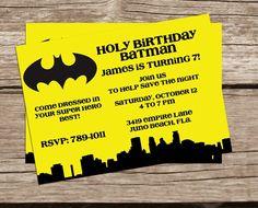 birthday batman, birthday parties, batman invitations, batman birthday invite, superhero parti, birthday idea, superhero party, birthday invitations, super hero birthday