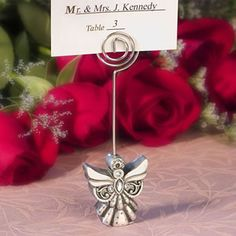Angel Place Card Holder Favors