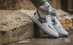 "Nike Lunar Force 1 Hi QS ""White on White"" Detailed Images"