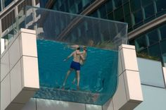 Dubia - glass floor pool #vidrio #glass #vidro