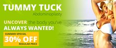 Tummy Tuck - 30% off