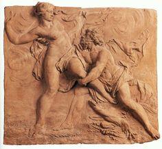 """The abduction of Persephone by Hades""    Luis Alberto Gómez Mata"