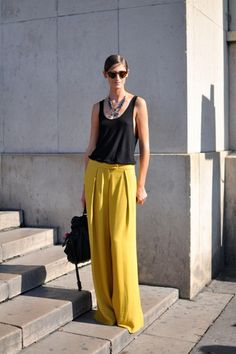 Mile Long Legs: The Wide Leg Pant