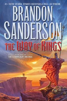 The Way of Kings (Stormlight Archive #1) Brandon Sanderson    Sprawling epic fantasy with interesting twists in the world-building and the plot.  Engaging characters and inventive magic system.